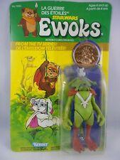 Vintage Star Wars Ewoks 1985 King Gorneesh w/Coin *Very Nice* MINP Kenner COO HK