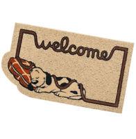 Zerbino rettangolare cane cuscino antiscivolo assorbente 40x70 tappeto esterno