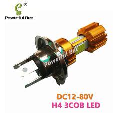 2x H4/9003/HB2 36W COB LED white car motorcycle headlight bulb 12-80V Hi/Lo beam