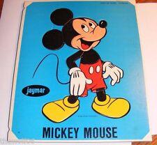 Vintage Micky Mouse Tray Puzzle by Jaymar #501