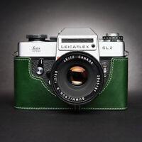Leica Leicaflex SL2 Half Case Camera Retro Cover Genuine Leather TP Handmade New