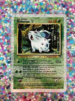 ⭐️ Nidoran 82/110 Holo 2002 Pokemon Legendary Collection WOTC old card Nice 🎏