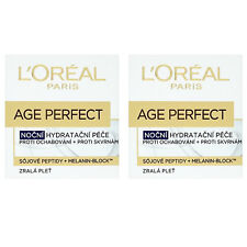 2 X L'Oreal Age Perfect Re-hydrating Night Cream 50ml - only £12.99!!