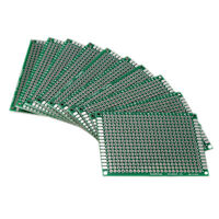 10X Double Side 5x7cm PCB Strip board Printed Circuit Prototype Track