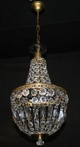 VINTAGE CHANDELIER  TENT AND BAG CEILING LIGHT (my3)