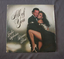 "Vinilo SG 7"" 45 rpm  JULIO IGLESIAS DIANA ROSS - ALL OF YOU -  Record"