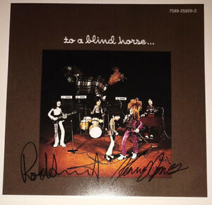 SIGNED ROD STEWART KENNEY JONES 12x12 FACES A NOD IS AS GOOD AS A WINK RARE