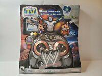 WWF/WWE Jakks Pacific 2005 Raw vs. Smackdown Plug n' Play TV Wrestling Game New