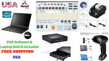 Low price Full Pos all-in-one Point of Sale System Combo Kit Retail Store