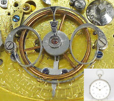 Meuron & Companie Viertelrepetition - ø 61,8 mm, 139,5 g, Paris um 1820 selten