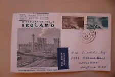First Day Cover Ireland 1967 Airmail letter