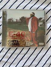 E-40 - Ballatician - Grit & Grind - CD - Explicit Lyrics - **NEW/ STILL SEALED**