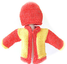 New Kss Handmade Citrus Baby Sweater/Cardigan with a Hat (3 Months) Sw-449 Sale!