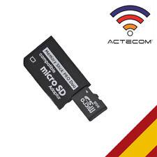ACTECOM® ADAPTADOR MICRO SD/ MICROSD A PSP MEMORY STICK PRO DUO