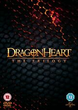 DRAGONHEART The Trilogy (Sean Connery) BOX 3 DVD in Inglese NEW .cp.