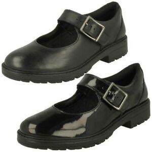 Girls Clarks Loxham Walk Y Mary Jane Style Shoes