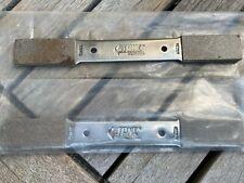 2 Vintage Stone Quality Tools  Sharpening Stone Files