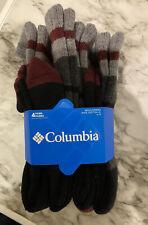 4 Pair Columbia Wool Socks Crew Mi-Chausettes Winter Warm Toasty New Unworn