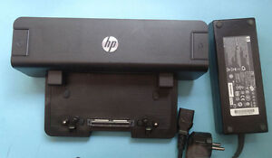 DockingStation HP EliteBook 8440p 8540w 8460p 6560b 8740w Port 120W Netzteil
