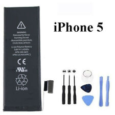 100 Genuine OEM Replacement Battery for Apple iPhone 5 Li-ion 1440mah Tools