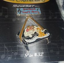 Oliver Dodger Pin Disney Magical Musical 16343 #32 Perfect Isn't Easy Cat Dog