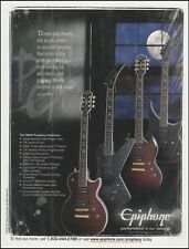 Epiphone Prophecy Series Guitar Collection 2008 advertisement 8 x 11 ad print