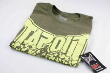 NEW NWT Tapout Tap Out MMA UFC Small Green Skull T T-Shirt