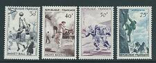 FRANCE 1956 VARIOUS SPORT DESIGNS SG 1297-1300 SET 4 MNH