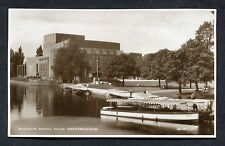 C1960's View of a Boat Outside Shakespeare Memorial Theatre, Stratford-on-Avon.