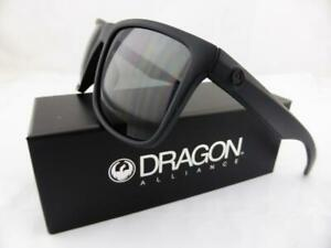 Dragon MERIDIEN Sunglasses Matte Black - Grey Smoke Lens