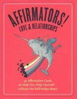 Affirmators! : Love & Relationships, Cards by Barrett, Suzi; Knock Knock (COR...