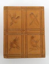 altes  Holz Model Springerle Spekulatius Backform  10 x 8 x 1,5 cm