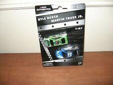 2019 Kyle Busch #18 & Martin Truex Jr. #19 Nascar Authentics 1/87 Wave 1