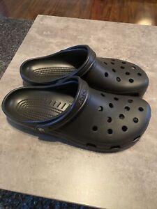Mens Crocs Classic Clogs Size 13