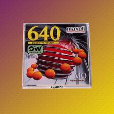 "Maxell RO-M640, 3,5"" MO Disk 640 MB, Data Cartridge, NEU & OVP"