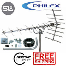 Digital TV Freeview HD High Gain 48 Element 4G Outdoor Aerial Kit - 24H POST