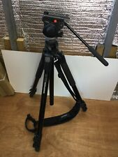 EXCELLENT Manfrotto 055XPROB Aluminium Alloy 3 Section Tripod + 701HD HEAD
