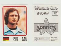 Panini - WM 1974 - Heinz FLOHE - original sehr rar
