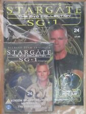 DVD COLLECTION STARGATE SG 1 PART 24 + MAGAZINE - NEW SEALED IN ORIGINAL WRAPPER