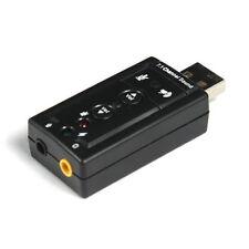12Mbps VITESSE USB 2.0 virtuel 7.1 canal audio Dispositif son CARTE ADAPTATEUR