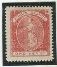 Virgin Islands Stamps Scott  #19 MINT,H,Fine-VF+ (X7265N)