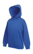 Sweats et vestes à capuche bleu sans motif pour garçon de 2 à 16 ans
