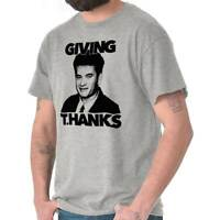 Giving Thanks Hanks Funny Thanksgiving Gift Short Sleeve T-Shirt Tees Tshirts