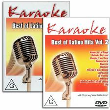 2 Karaoke DVD Set - Die größten Latino Italo 80'er Karaoke Party Hits - Neuware