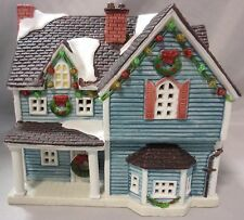 LEMAX DICKENSVALE PORCELAIN LIGHTED HOUSE CHRISTMAS HOLIDAY VILLAGE BUILDING