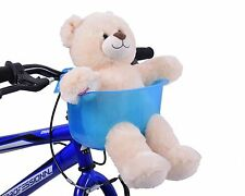 Ragazzi Bike TEDDY o Dolly PORTAEREI da montare sul manubrio blu regalo di Natale