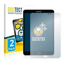 2x Samsung Galaxy Tab S2 8.0 (WiFi) Display Schutz Folie Matt Entspiegelt