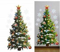 Christmas Tree Wall Sticker Removable Window Decal Mural Room Home Xmas Decor US