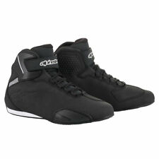 Alpinestars Sektor Moto Motorbike Motorcycle Shoes Black