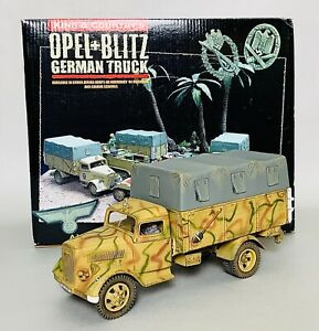 King & Country Opel Blitz Normandy Camo Version (KCWS090)  - Mint!